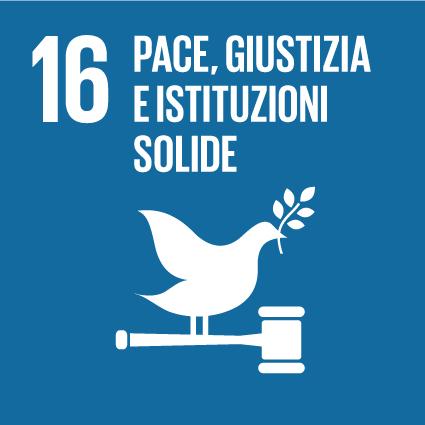 16 Pace, giustizia e istituzioni solide