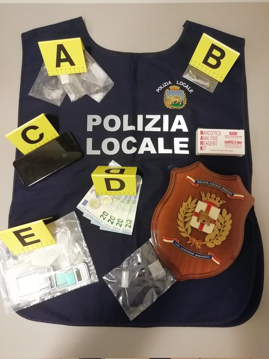 Polizia locale antidroga