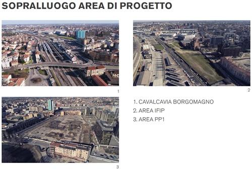 masterplan area progetto