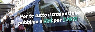 Trasporto pubblico agevolazioni limitazioni antismog Abbonato in prova 380 ant