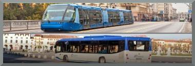 Autobus e tram 380 ant