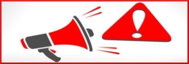 Attenzione avviso news pericolo megafono 380 ant fotolia 177297656