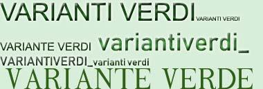 Varianti verdi urbanistica 380 ant