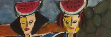 """Mostra"""" La Sicilia nel tratto di Fiore, il pittore di Ortigia"""" 380 ant"""