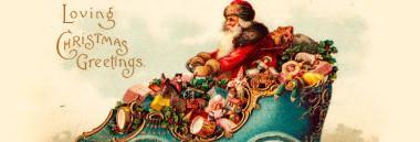 """Mostra """"Prima di Babbo Natale. Santa Claus nelle illustrazioni tra Ottocento e Novecento"""" 380 ant"""