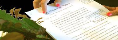 Cdu Certificato di destinazione urbanistica atto documento contratto statuto 380 ant