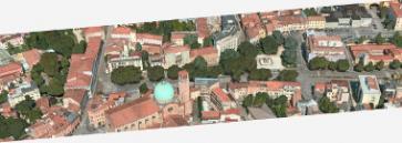 Progetto Nuova piazza Mazzini 380 ant